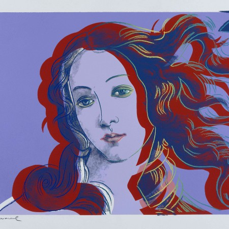 Details of Renaissance Paintings: One Plate, 1984 (screenprint in colours on arches aquarelle)