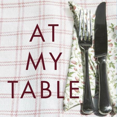 At My Table book jacket