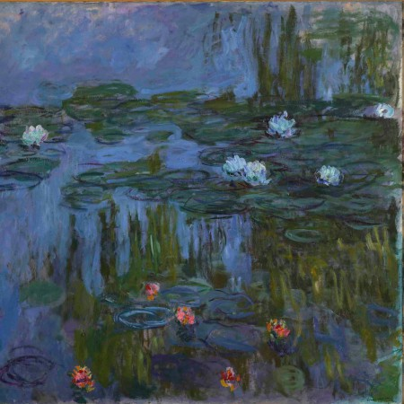 Claude Monet (French, 1840-1926), Nymphéas (Waterlilies), 1914-1915, oil on canvas, Museum Purchase: Helen Thurston Ayer Fund, © artist or other rights holder, 59.16