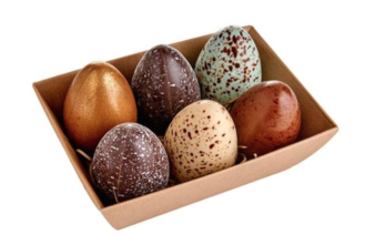 Goose eggs for easter from Fortnum & Mason