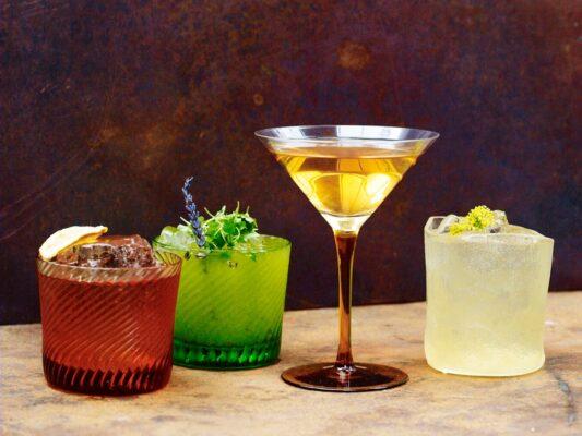la goccia bar cocktails