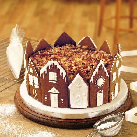 Christmas Cake Hamper Ideas : Recipe: Christmas Cake A Little Bird