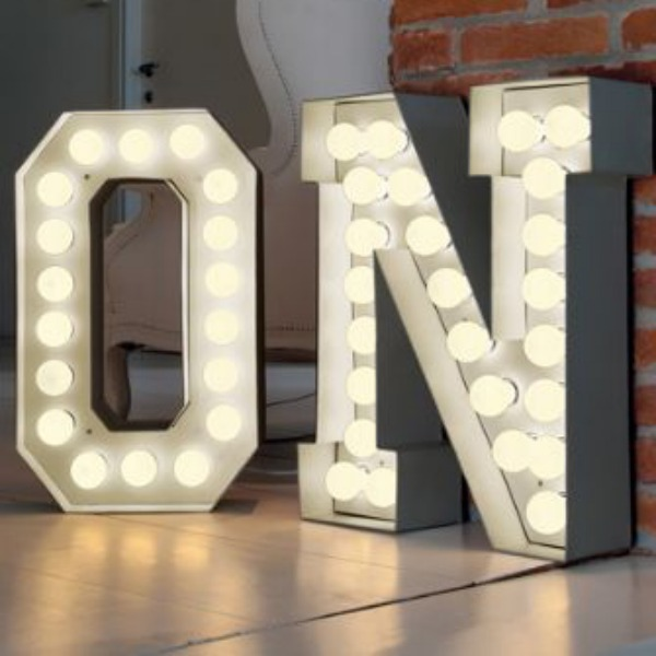 vegaz style large metal letter with led lights 17010 p[ekm]335×502