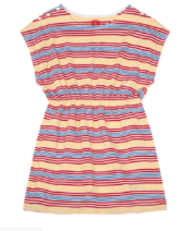 bonton dress striped