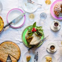 Christmas Baking: Panettone Cake and Mince Pie Brownies