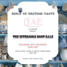 The insider's car boot sale & a fashion charity sale